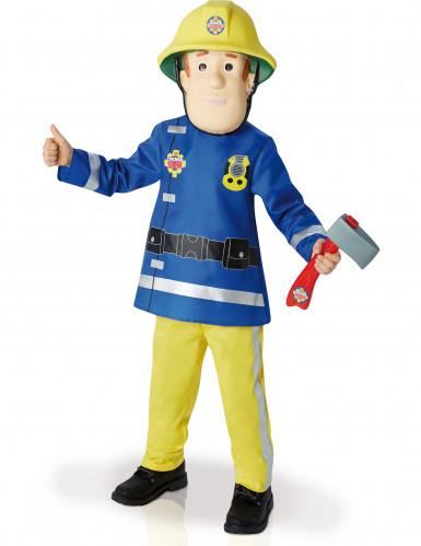 Costume deluxe per bambino da Sam Il Pompiere™