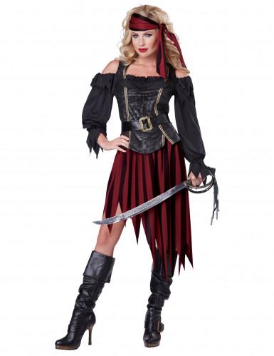 Costume per donna da pirata