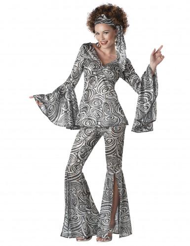 Costume disco da donna in stile vintage