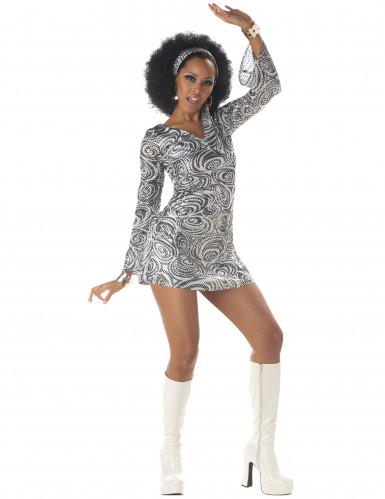 Costume da diva della Disco per donna
