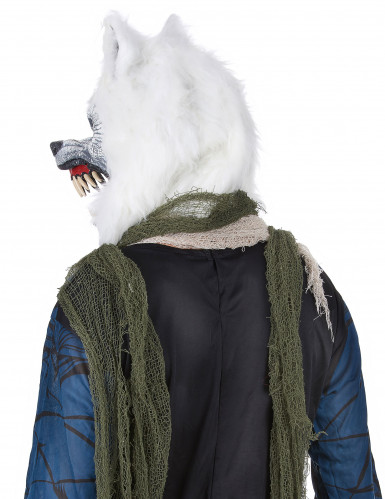 Maschera da lupo bianco-2