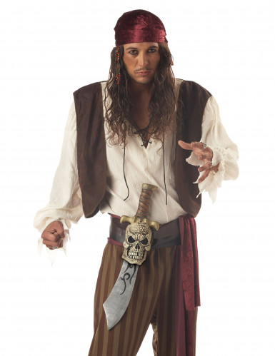 Spada pirata con dettaglio teschio-1