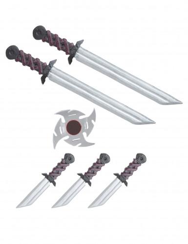 Kit completo di armi ninja per bambino