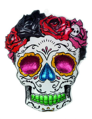 Allestimento per Halloween in stile Dia de los Muertos