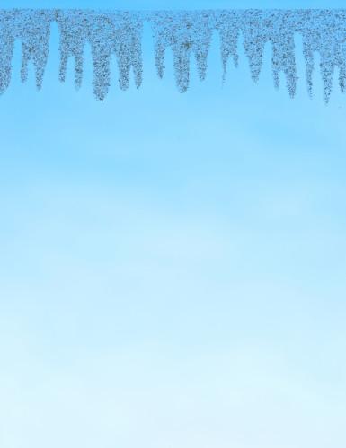 Neve di Natale elettrostatica per finestra-1