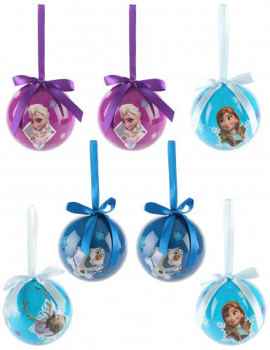 Confezione 7 palle per albero di Natale Frozen <br />- Il Regno di Ghiaccio™