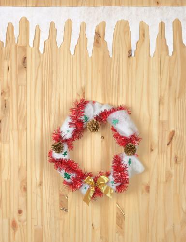 2 Ghirlande neve di Natale-1