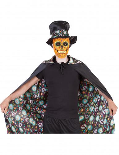 Mantello double face Giorno dei Morti Halloween