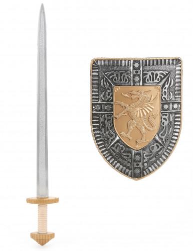 Kit spada e scudo gladiatore romano per bambino