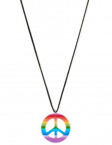 Collana hippie multicolor per adulto