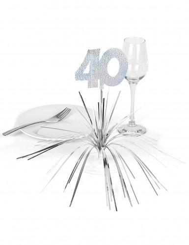 Decorazione per il tavolo con numero 40-1