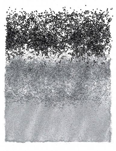 Tris di lustrini neri e argentati-1
