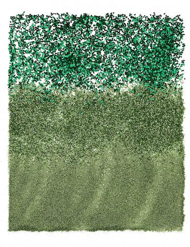 Trio di lucenti paillettes verdi-1