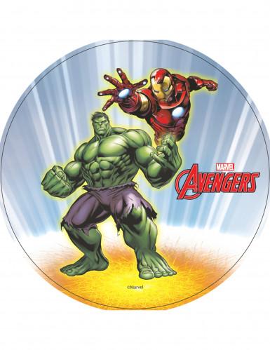 Disco ostia con Hulk e Iron Man Avengers™