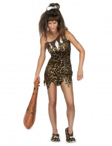 Costume da donna della preistoria