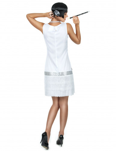 Costume stile  Charleston bianco-2