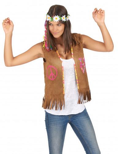 Gilet stile hippie da donna