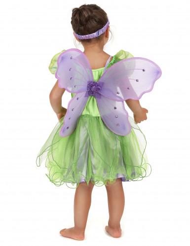 Costume da fatina per bambina: con fascia e ali-2