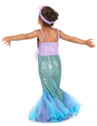 Costum sirena da bambina-2