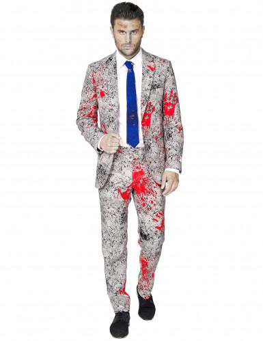 Costume da zombie in abito classico Opposuits™ per uomo