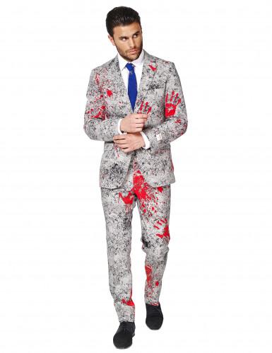 Costume da zombie in abito classico Opposuits™ per uomo-1
