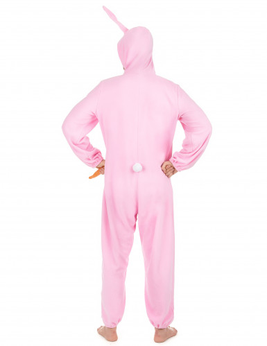 Costume Coniglio Rosa uomo-2