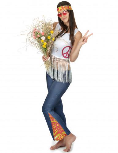 Costume stile hippie donna