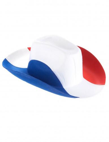 Cappello bandiera francese da cowboy