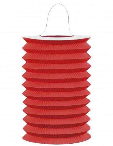 Lanterna in carta rossa in stile cinese