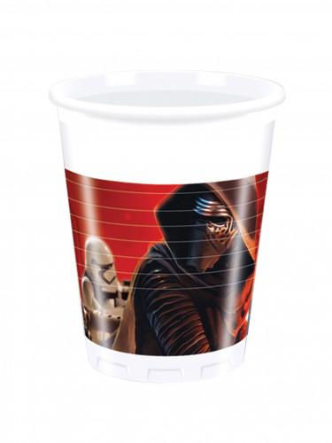 8 bicchieri in plastica Star Wars VII™