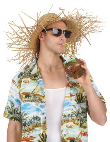 Cappello di paglia adulto Hawaii-1
