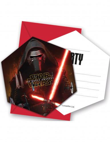 Lotto 6 buste più invito Star Wars VII™