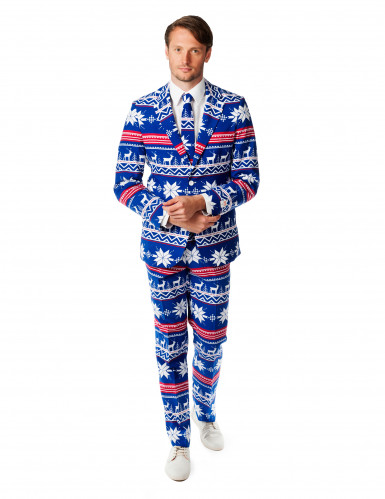 Costume da Mr Natale per uomo originale Opposuits™