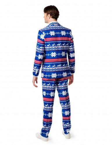 Costume da Mr Natale per uomo originale Opposuits™-1