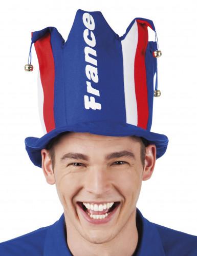 Cappello in gommapiuma con sonagli Forza Francia