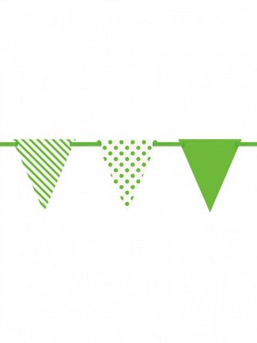 Ghirlanda di bandiere verdi