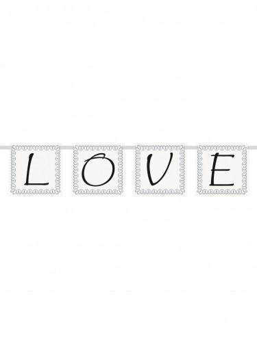 Ghirlanda scritta Love