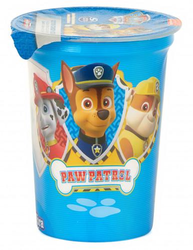 Bicchiere con zucchero filato a tema Paw Patrol-1
