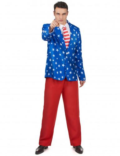 Costume da Mr. America per uomo