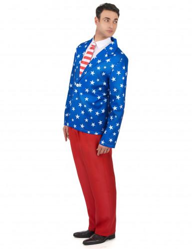 Costume da Mr. America per uomo-1