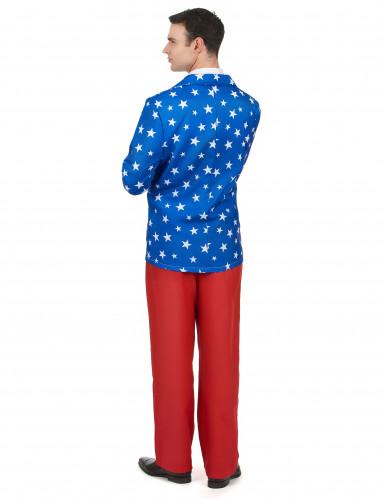 Costume da Mr. America per uomo-2