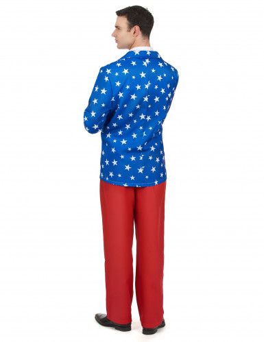 Costume da Mr. America per uomo-2