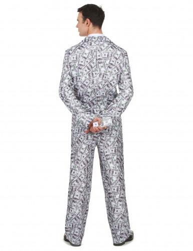 Costume da uomo con disegni di dollaro-2