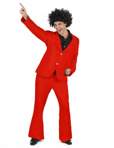 Costume disco da uomo rosso