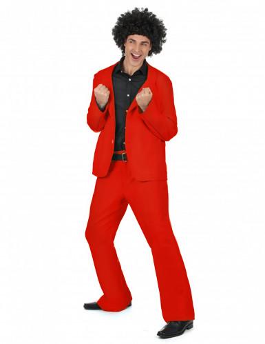 Costume disco da uomo rosso-1