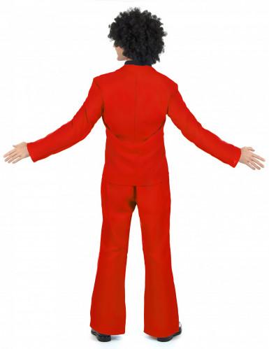 Costume disco da uomo rosso-2