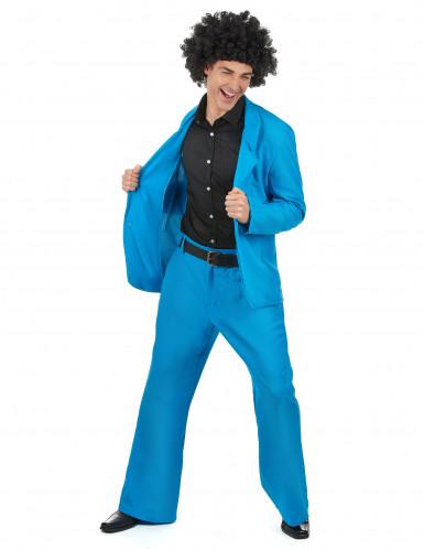 Vestito azzurro uomo disco