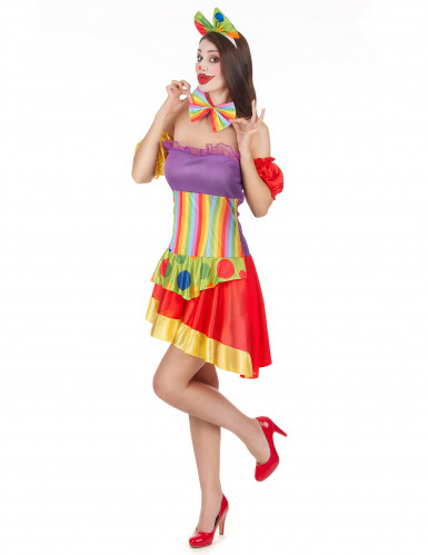 Costume clown per donna-1