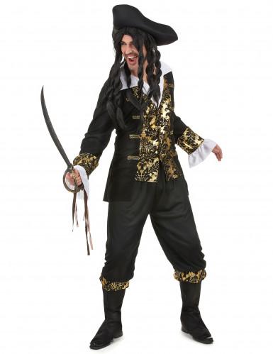 Costume uomo da corsaro nero-1
