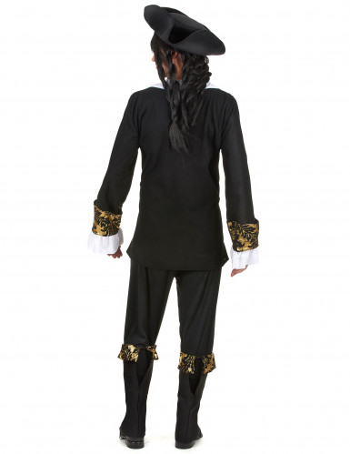 Costume uomo da corsaro nero-2